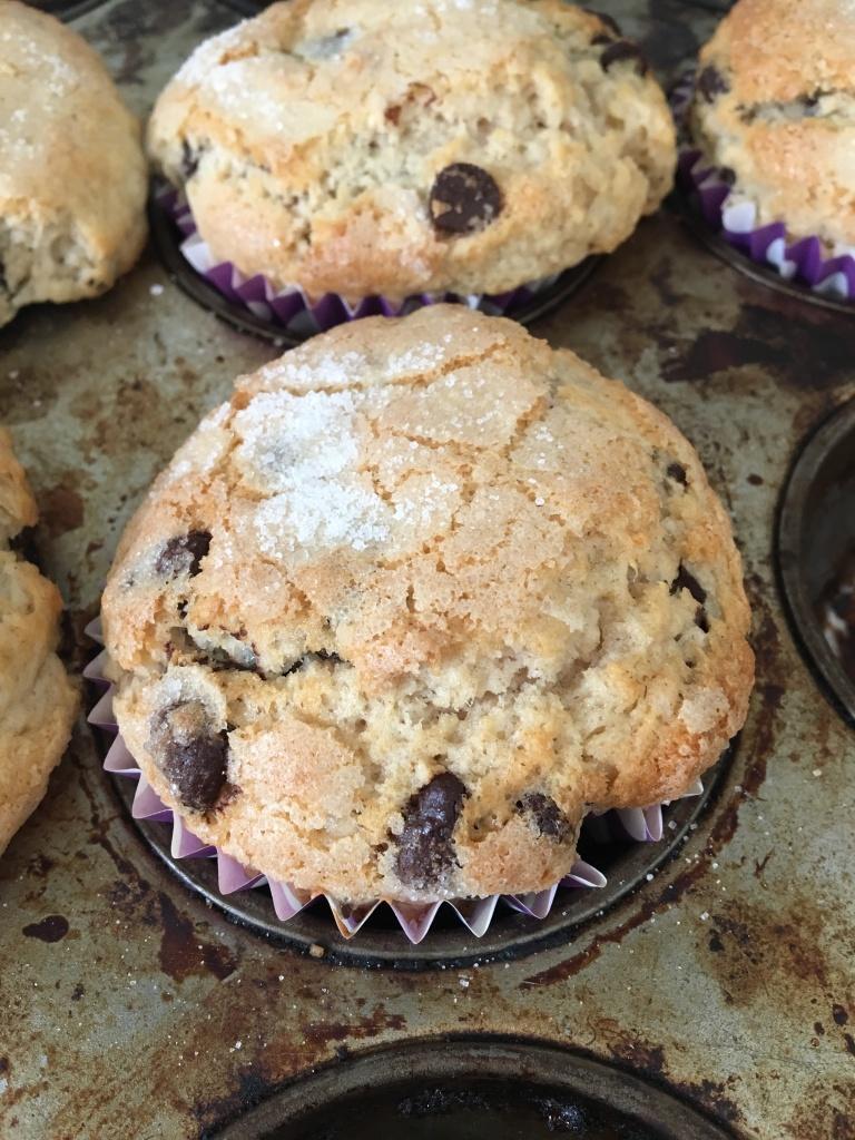 vegan coffee shop style muffins