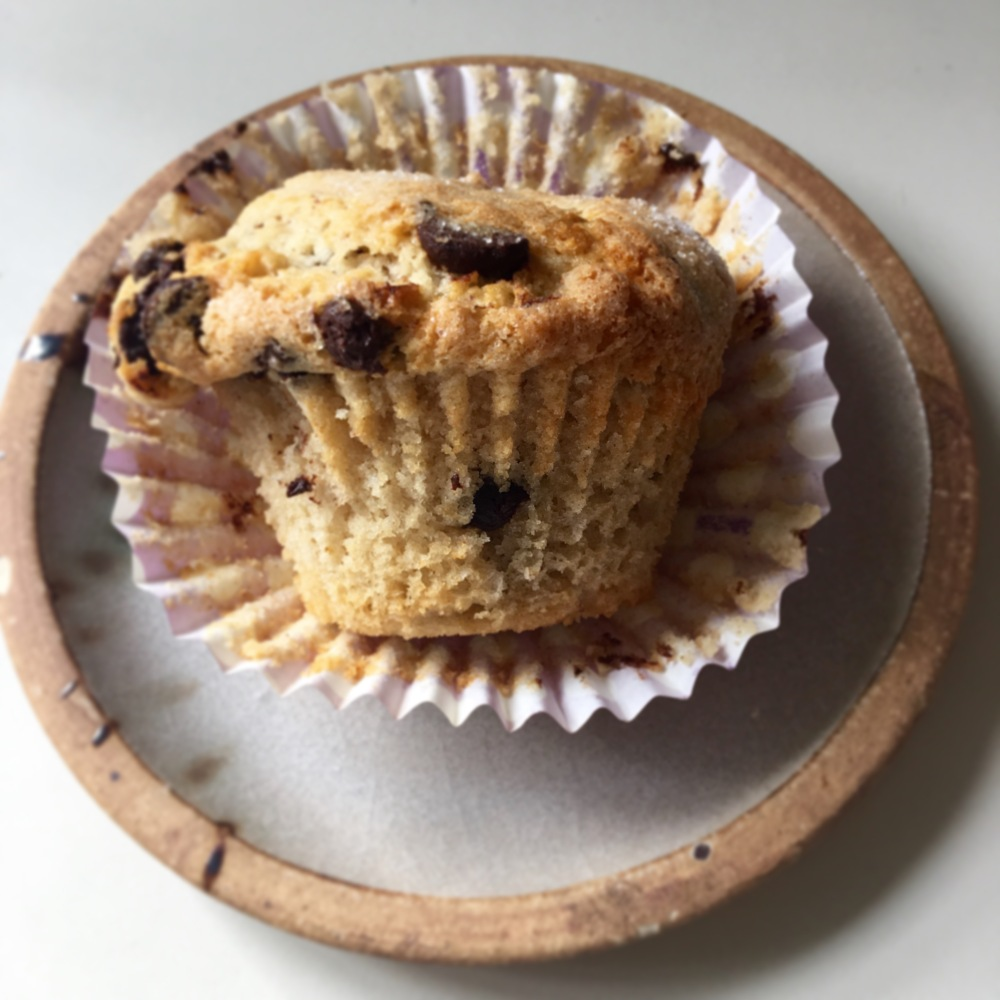 dairy-free coffee shop style muffins
