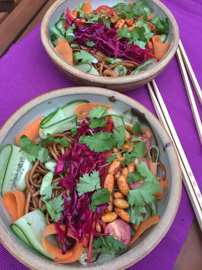 free-from vietnamese salad, no milk, no nuts, no eggs