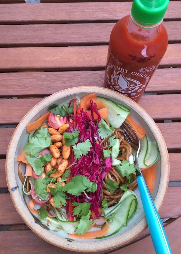 dairy-free, nut-free, egg-free vietnamese noodle salad