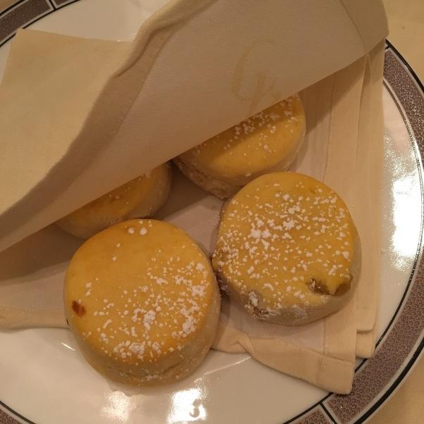 plain and fruit scones, vegan