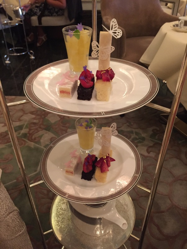 dairy-free, egg-free afternoon tea