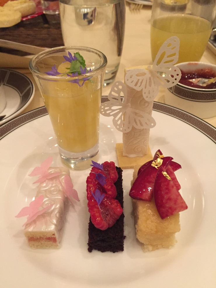 vegan afternoon tea at The Langham