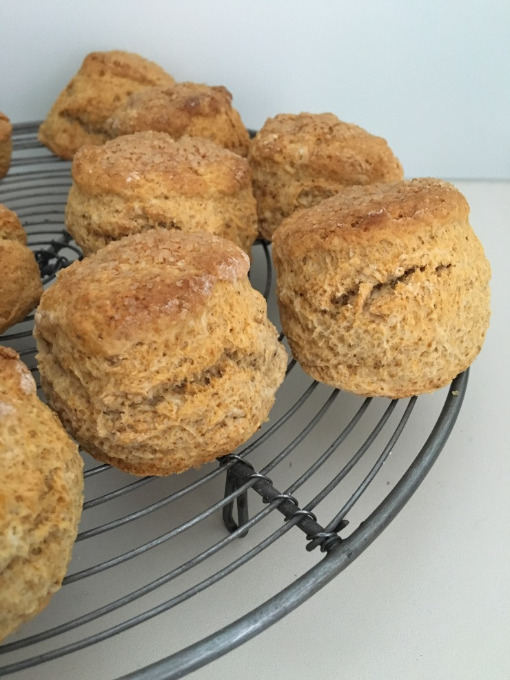 sticky toffee scones, dairy-free, egg-free, nut-free