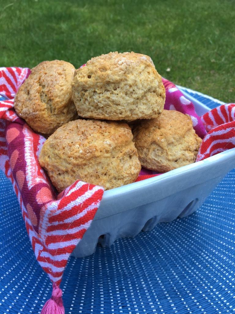 sticky toffee scones, vegan