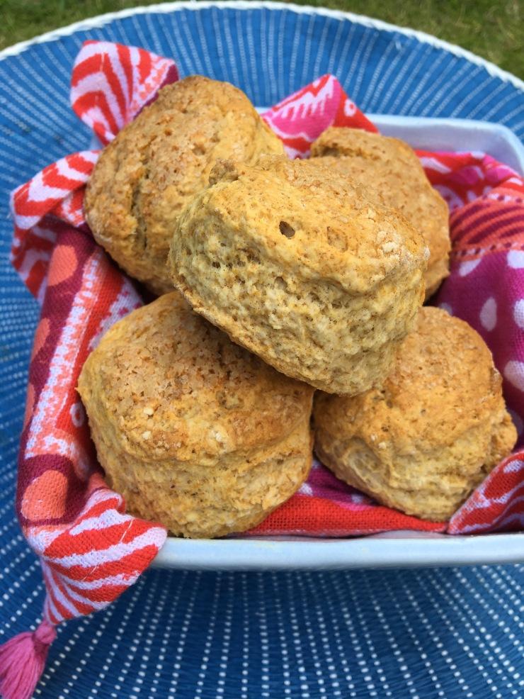 sticky toffee scones, vegetarian and vegan
