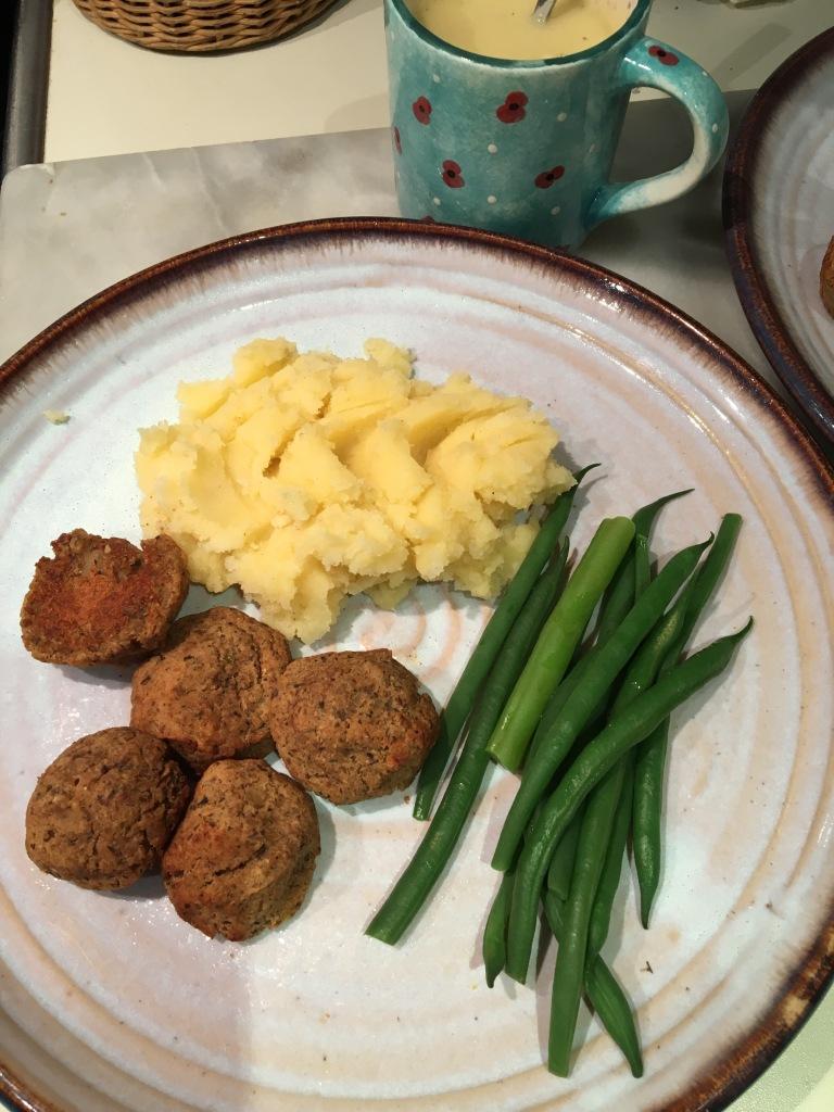 vegan swedish meatballs nut-free
