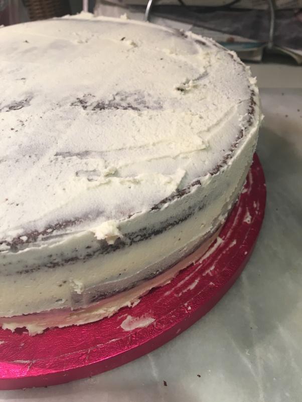 chocolate birthday cake, vegan