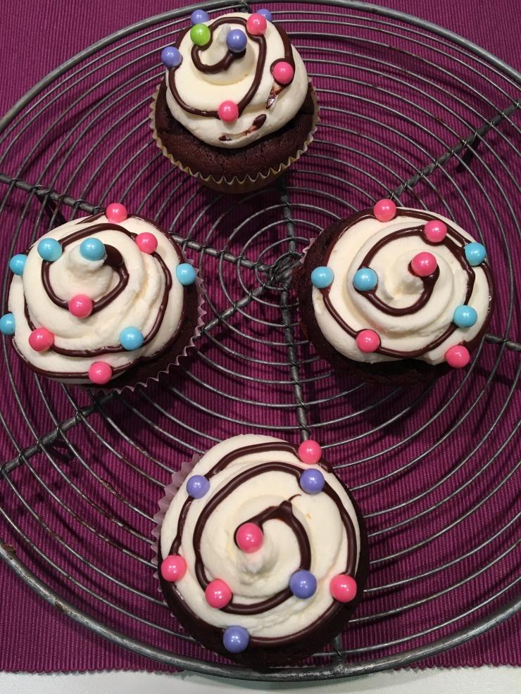 vegan Christmas cupcakes