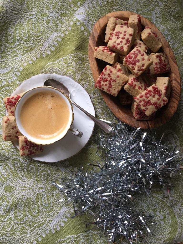 vegan Christmas shortbread