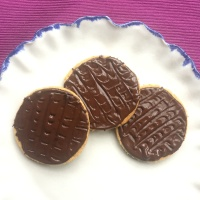 Homemade Dairy-free Digestive Biscuits