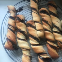 Chocolate Twists - The Ultimate Easy Breakfast Pastry