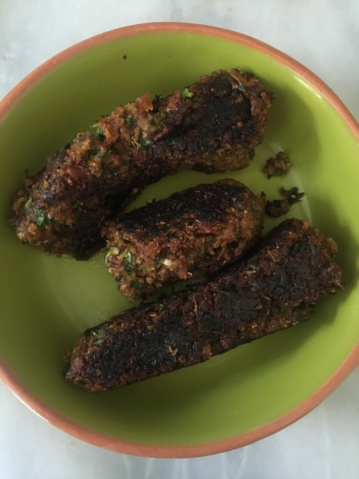 Vegetarian recipes lucys friendly foods the food for friends a veggie restaurant based in brighton cookbook has a couple of interesting veggie sausage recipes which are definitely worth trying forumfinder Images