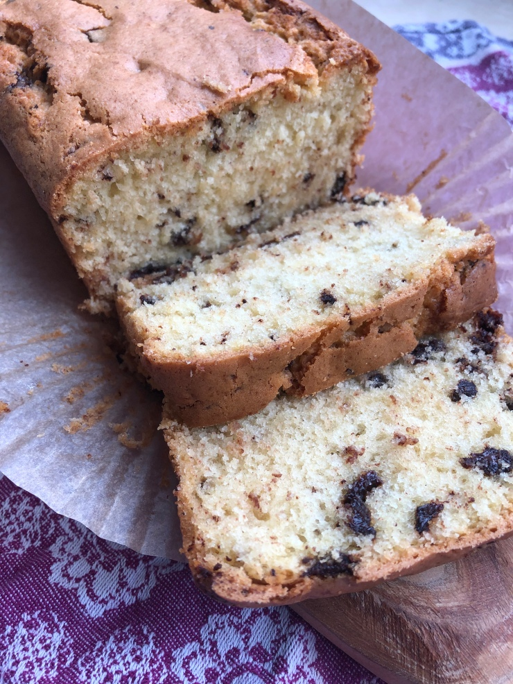Chocolate Chip Loaf Cake Lucy S Friendly Foods