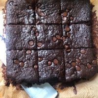 Incredible Triple Chocolate Brownies