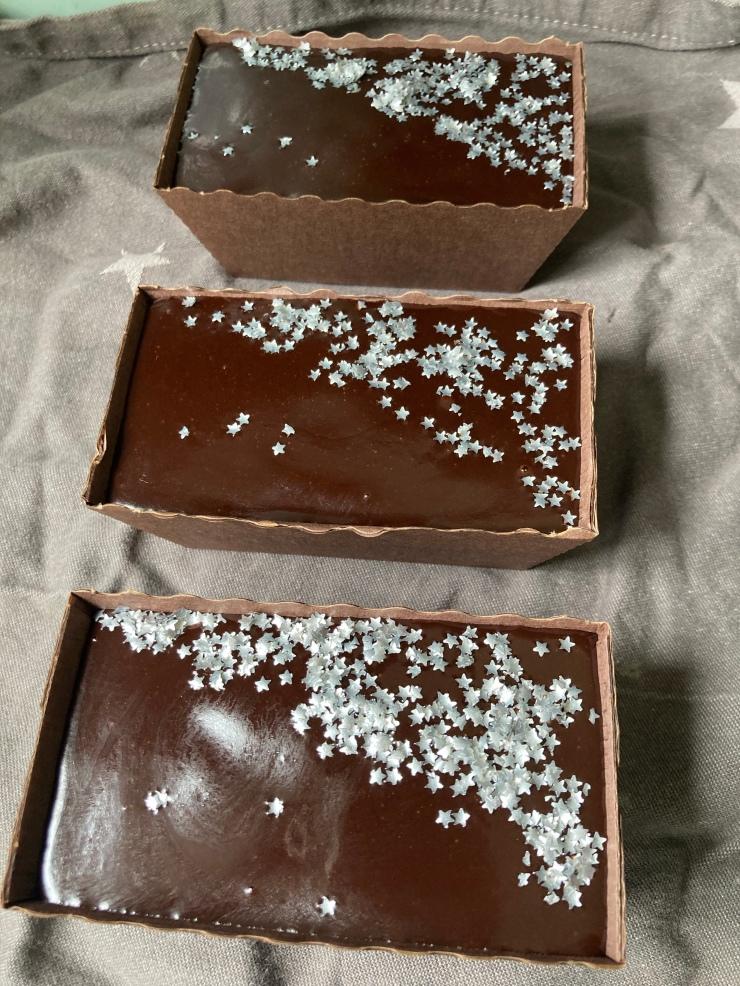 Chocolate Fudge Loaf cakes